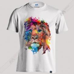 تیشرت طرح Lion