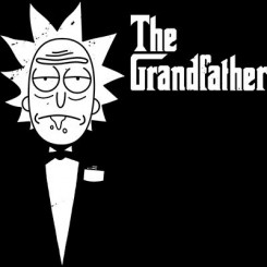 تیشرت دخترانه The GrandFather Rick