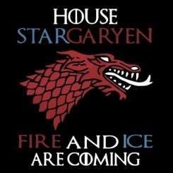تیشرت StarGaryen Ice And Fire